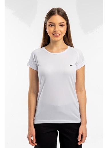 Slazenger Slazenger RELAX Kadın T-Shirt  Beyaz